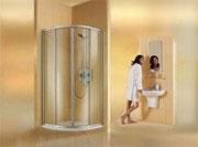 hüppe zuhanykabin, wellness, fürdőszoba,