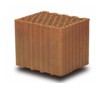 porotherm, 38 N+F, külső fal építésére, feles elem, hőszigetelést nem igényel