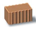 teherhordó fal, új termék, legjobb hőszigetelő, üregsorok, kerámiatégla, porotherm, 44 HS