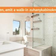 Walk-in zuhanykabinok