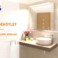 Fürdőszoba felújítás előtt állsz? – íme egy szuper karácsonyi ajándékötlet