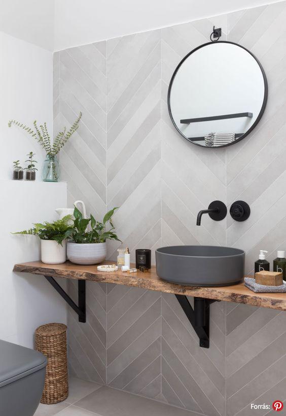 Fekete fürdőszoba inspiráció